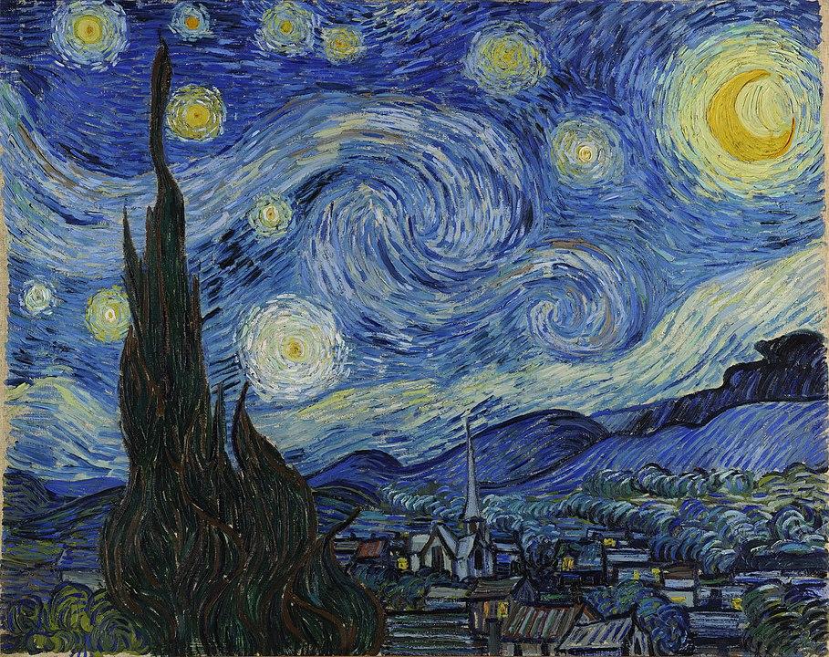"Van Gogh, ""The Starry Night"""